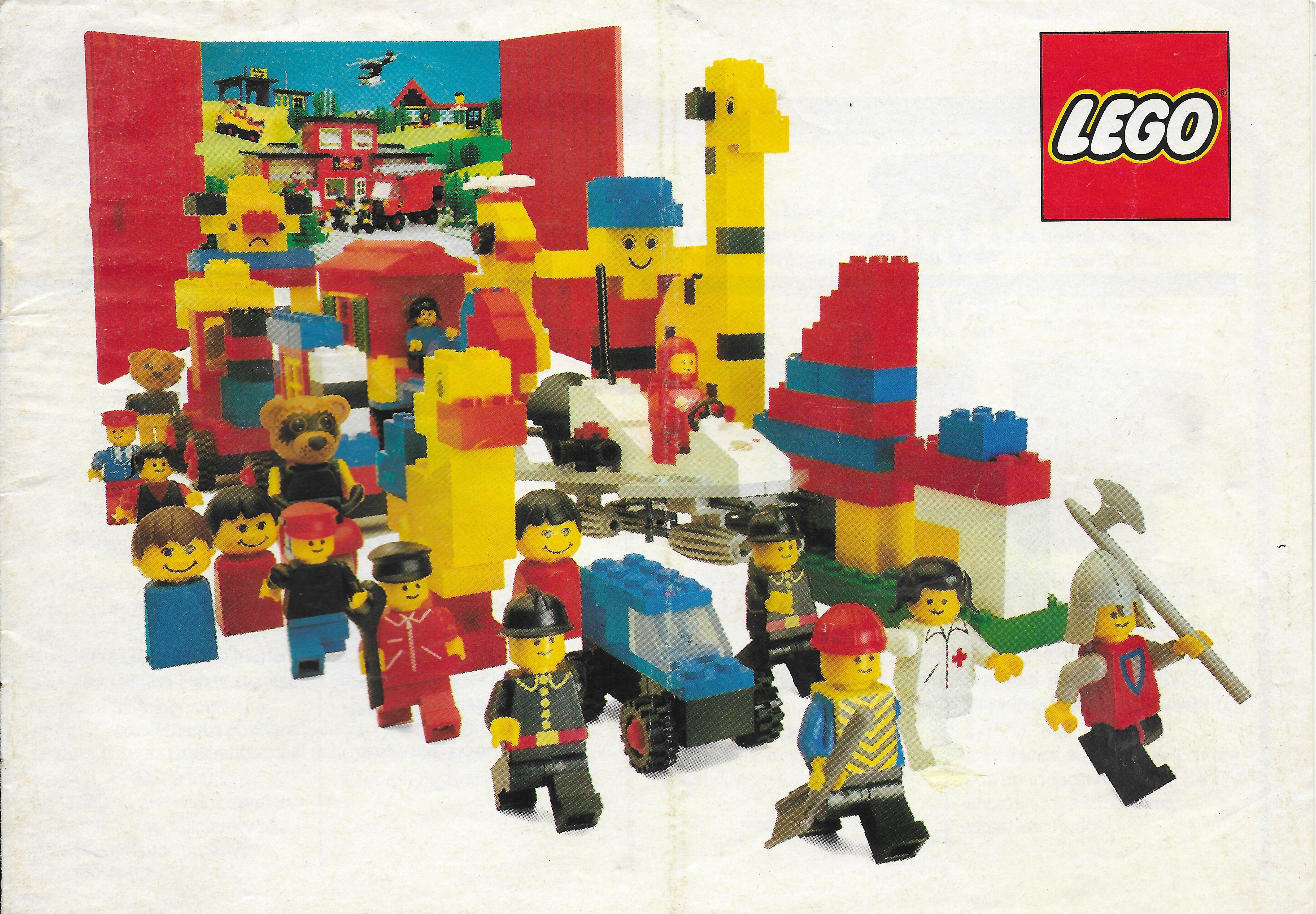 1981-es Lego katalógus