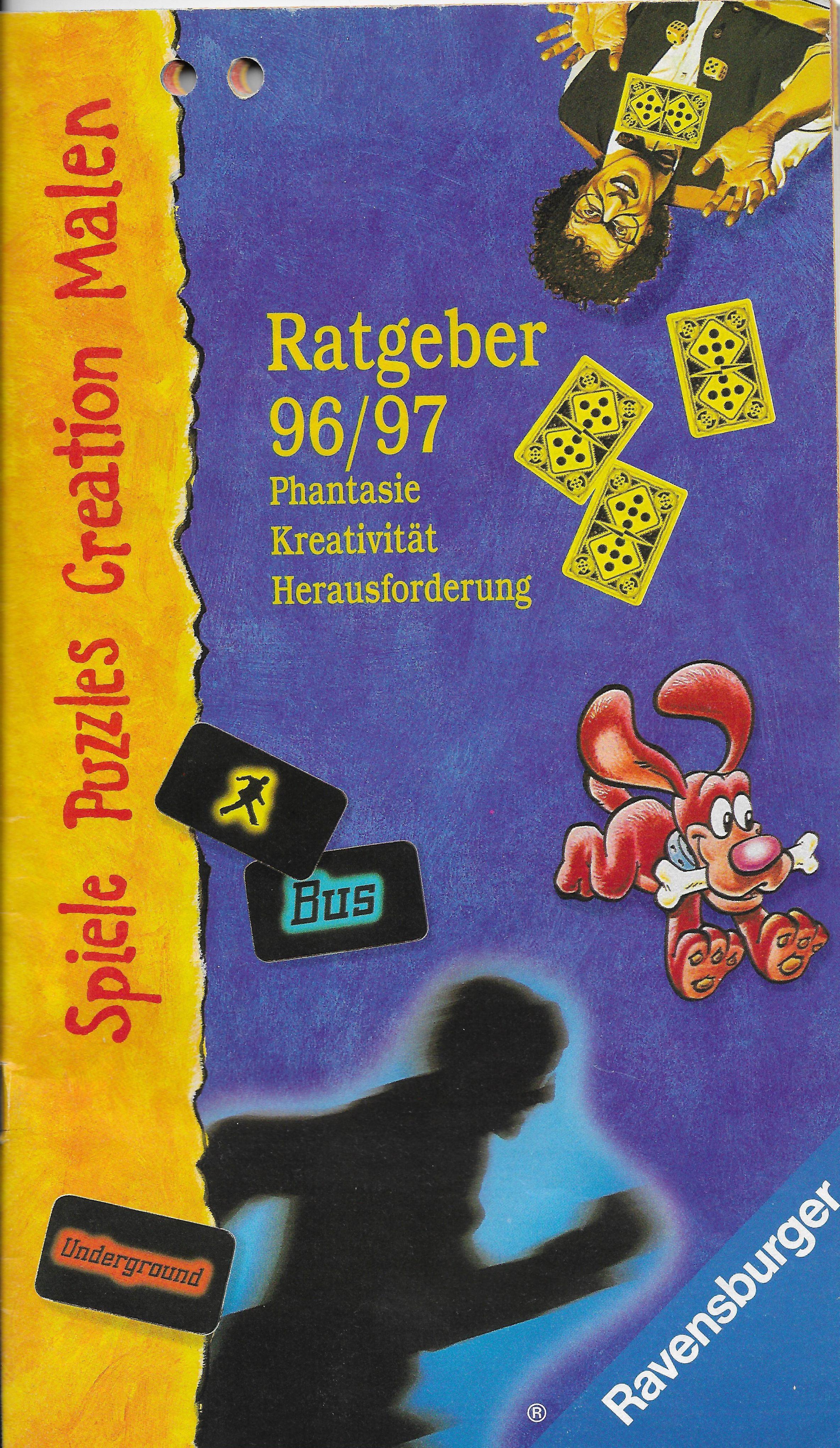 1996-os Ravensburger katalógus