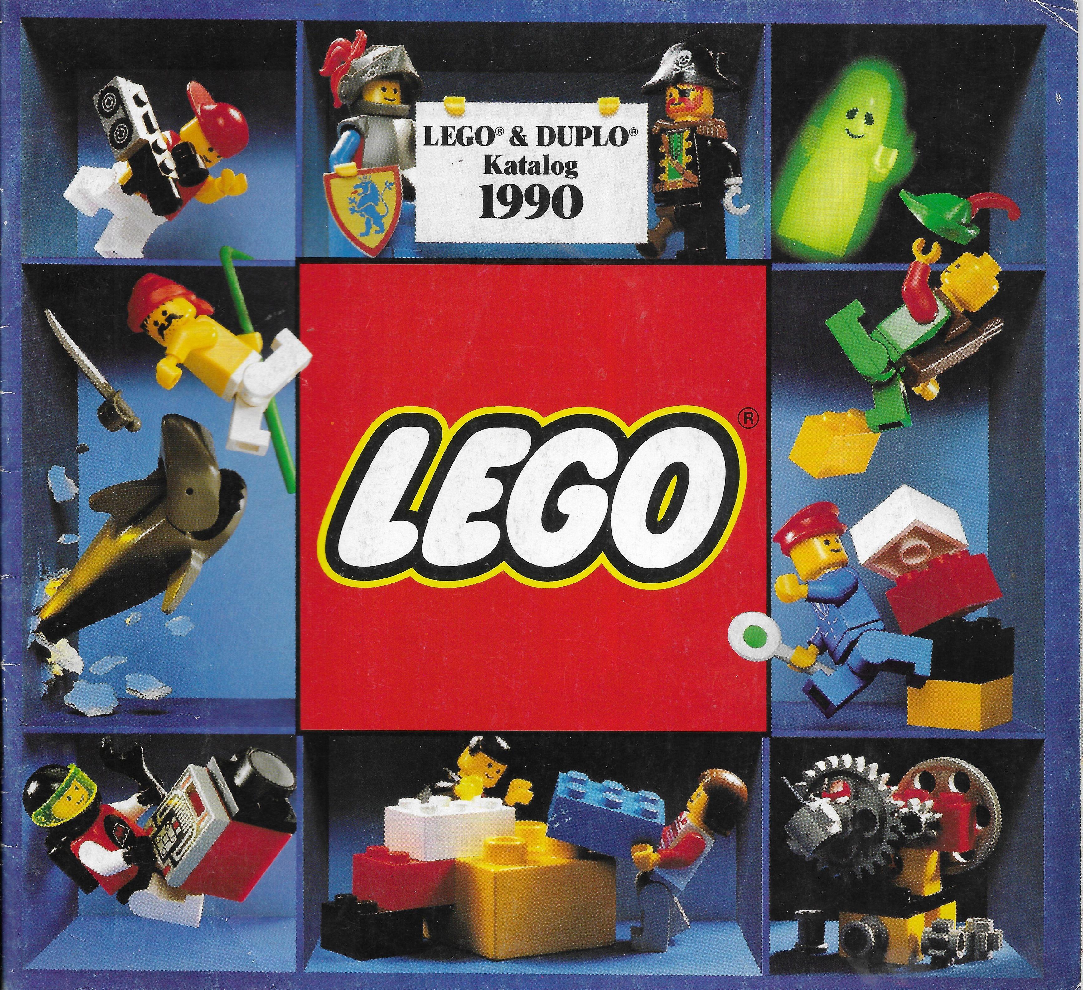 Német Lego katalógus 1990-ből