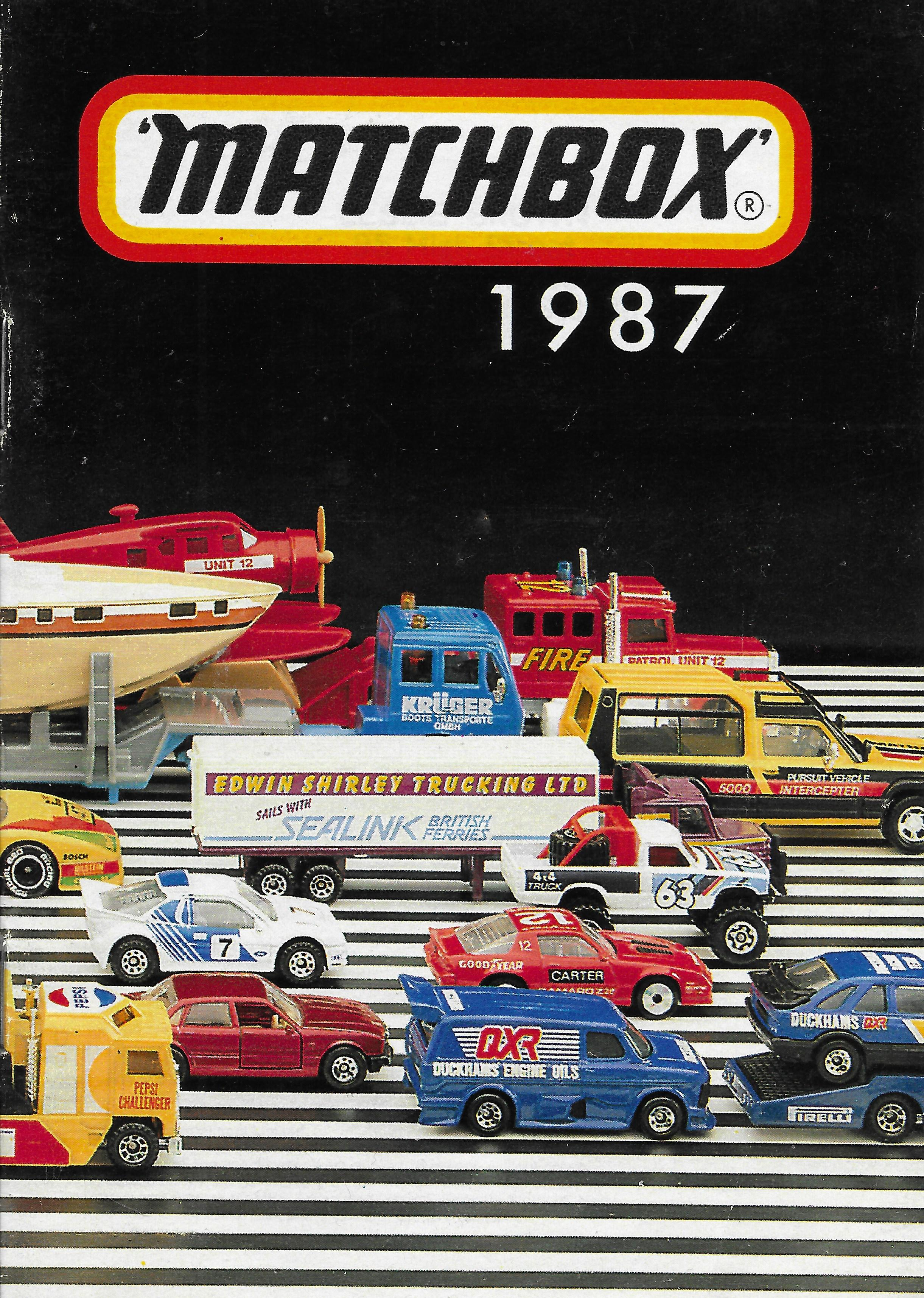 1987-es Matchbox katalógus