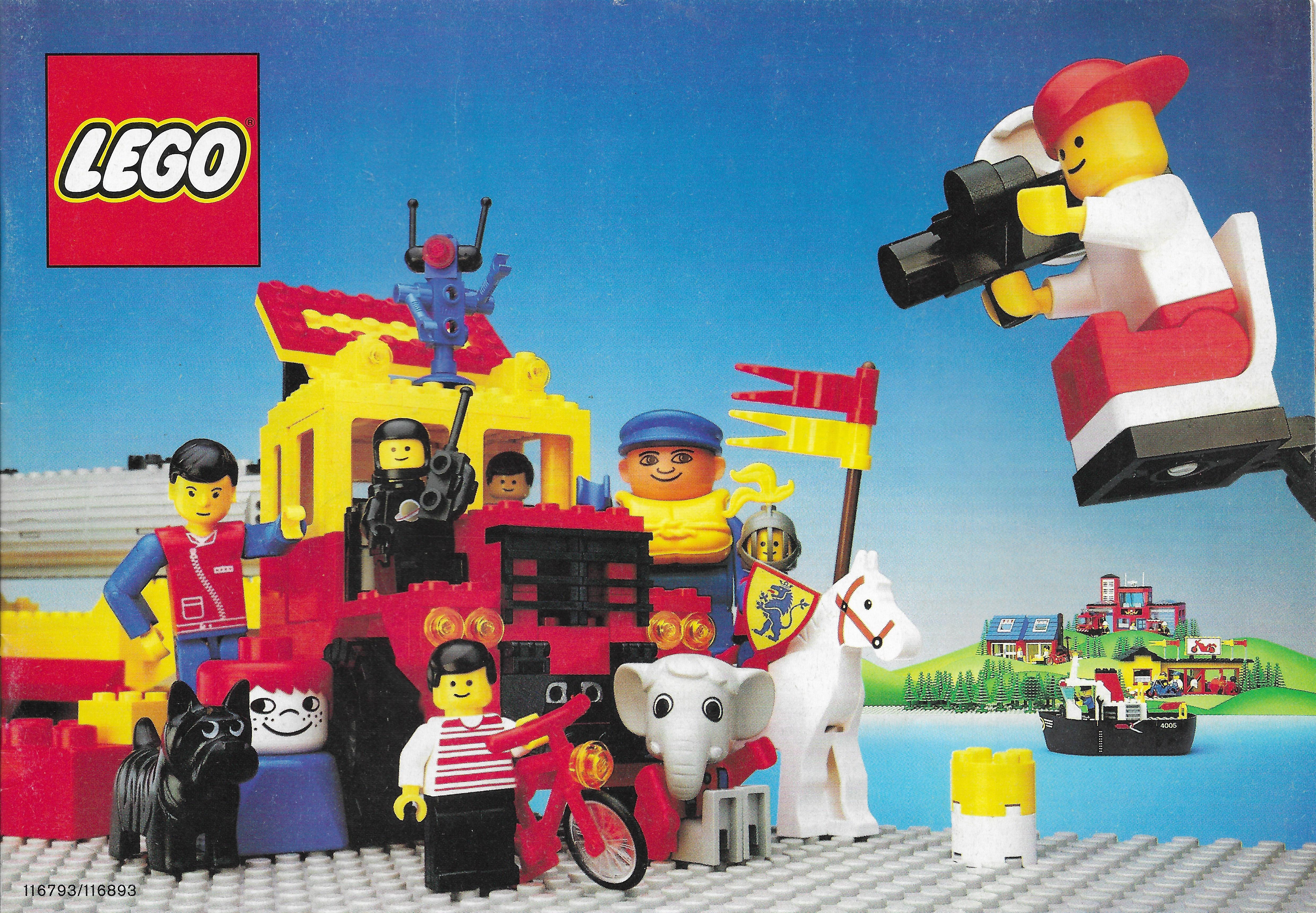 1986-os háromnyelvű (közte magyar) Lego katalógus