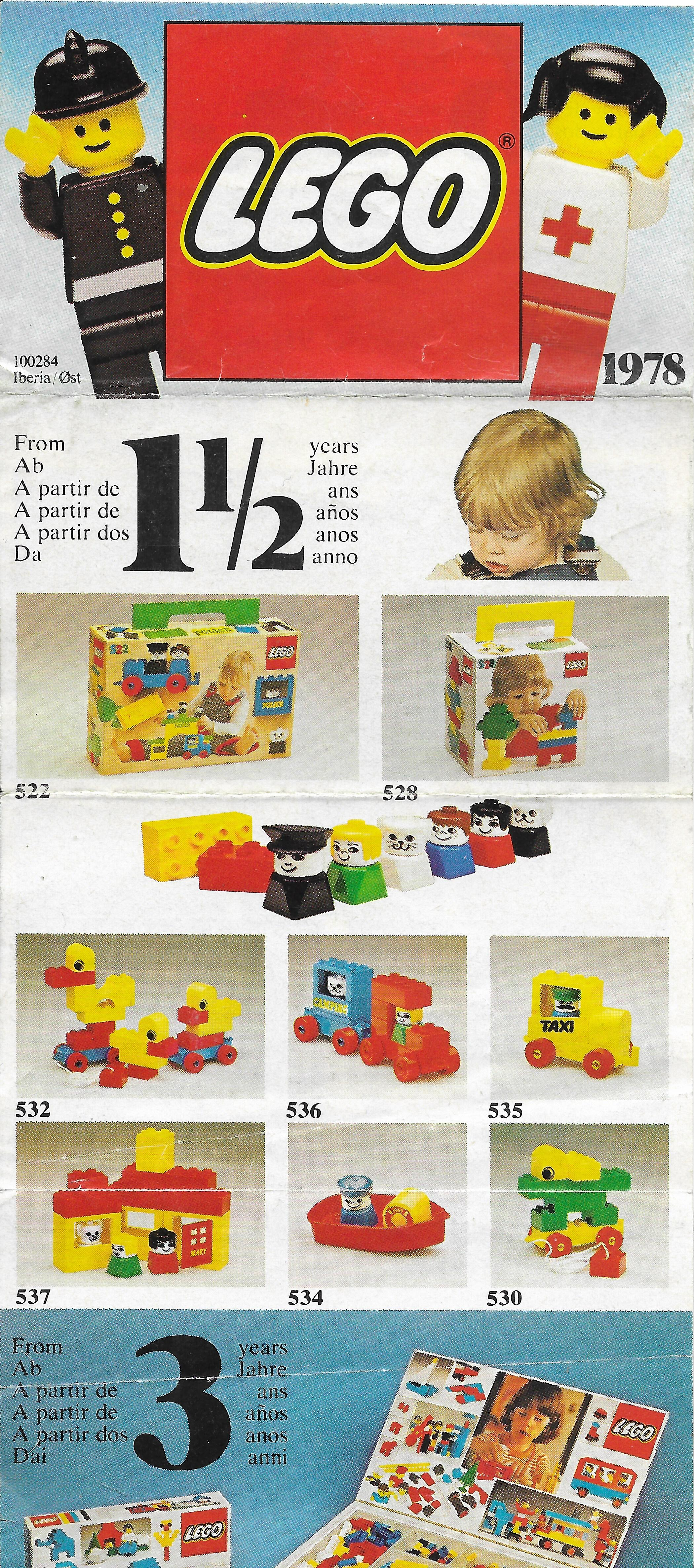 1978-as Lego Insert