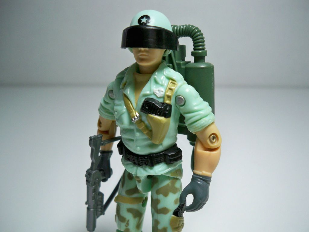 Starduster, a G.I.Joe Jet Pack Trooper