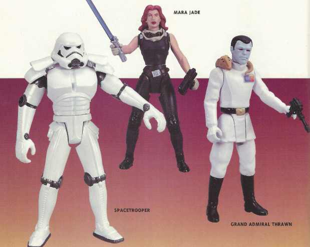 A Kenner Expanded Universe Star Wars figurái