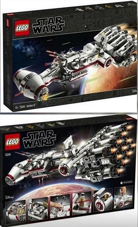 Lego hírek: Az első képek az UCS Tantive IV-ről