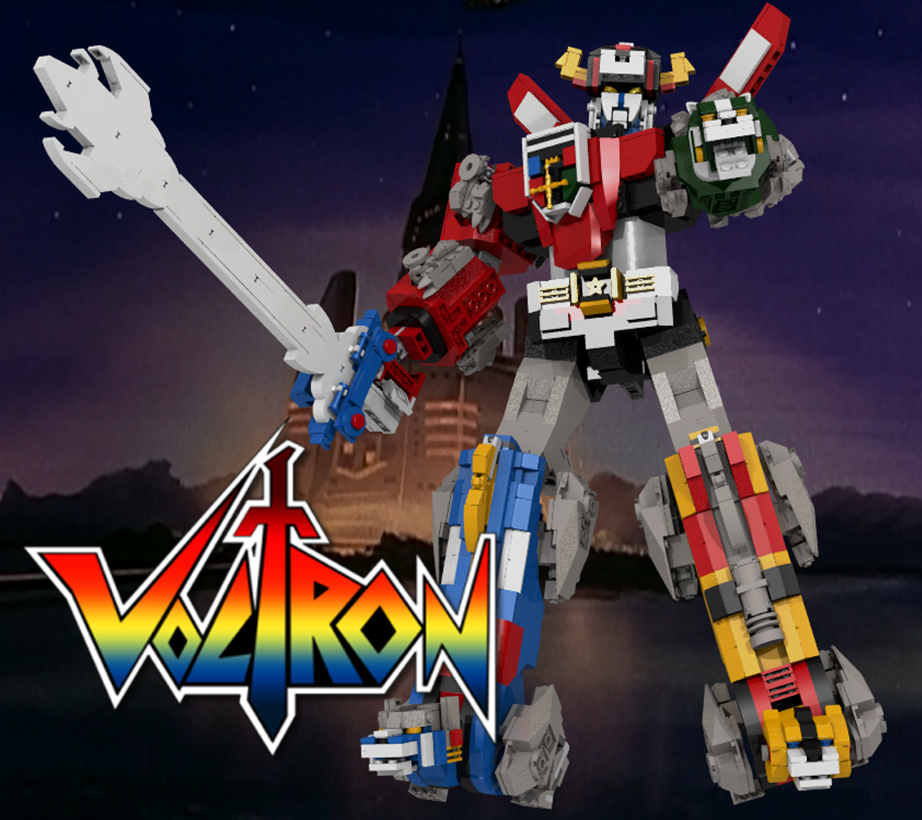 Lego Ideas Voltron - hivatalos