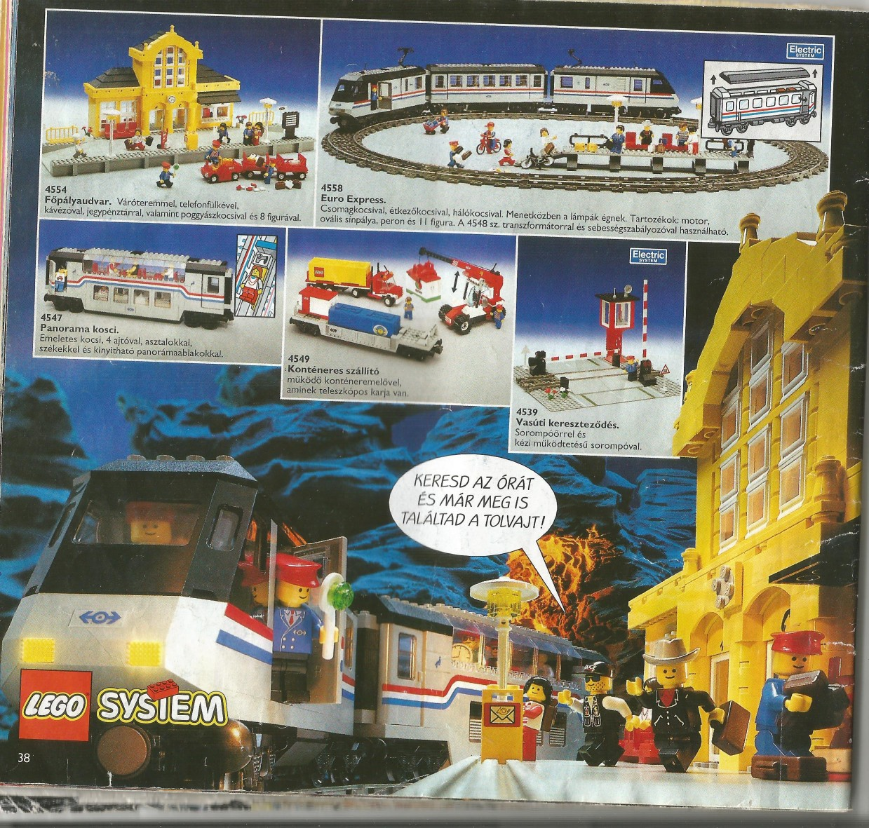 Egy jó kis magyar Lego katalógus 1994-ből - Játékok a Polcról a204790525