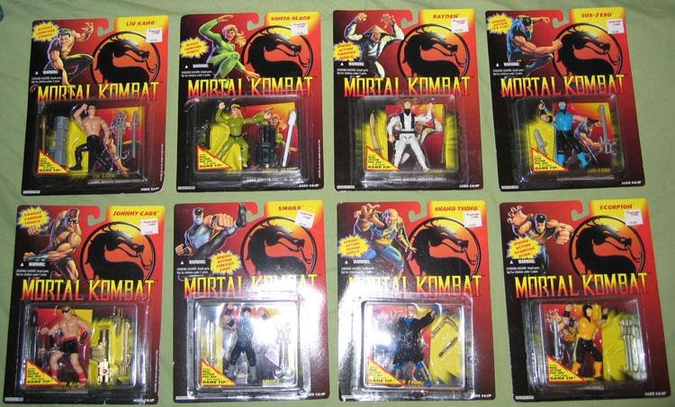Kevésbé ismert játékvonalak - 6.rész - A Hasbro Mortal Kombat figurái