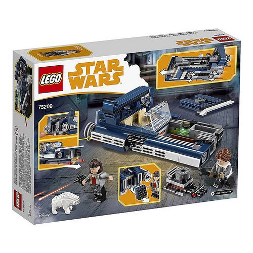 Az érkező Lego Star Wars szettek hivatalos képei...végre elemszámokkal