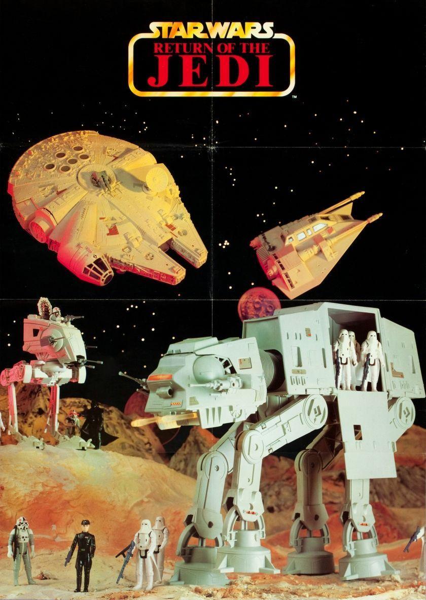 1983-as német Return of the Jedi poszter/katalógus