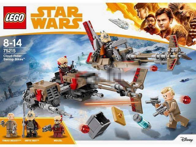 Első képek a Lego Star Wars 75215 Cloud Rider Swoop Bikes készletről