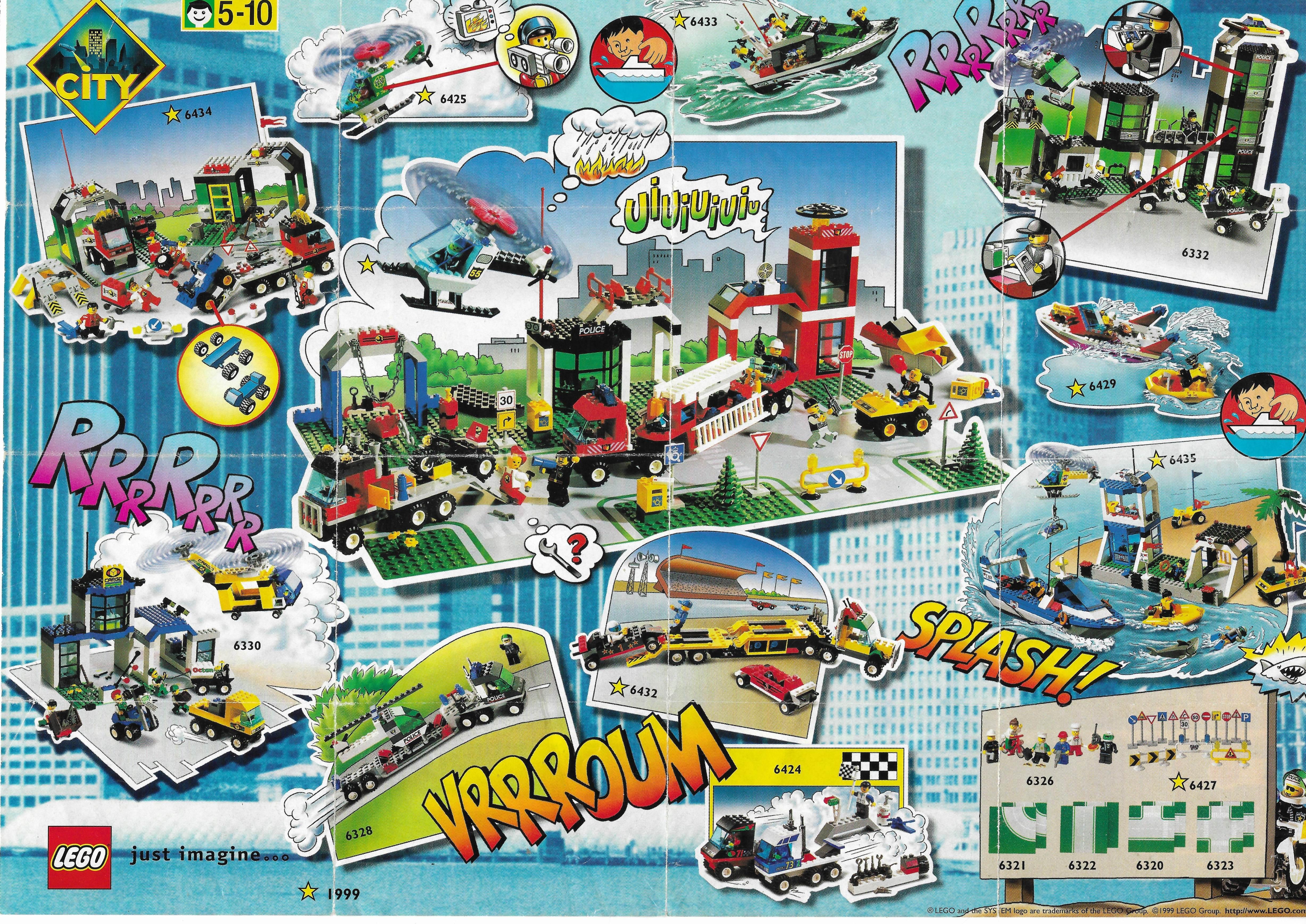 1999-es Lego City insert