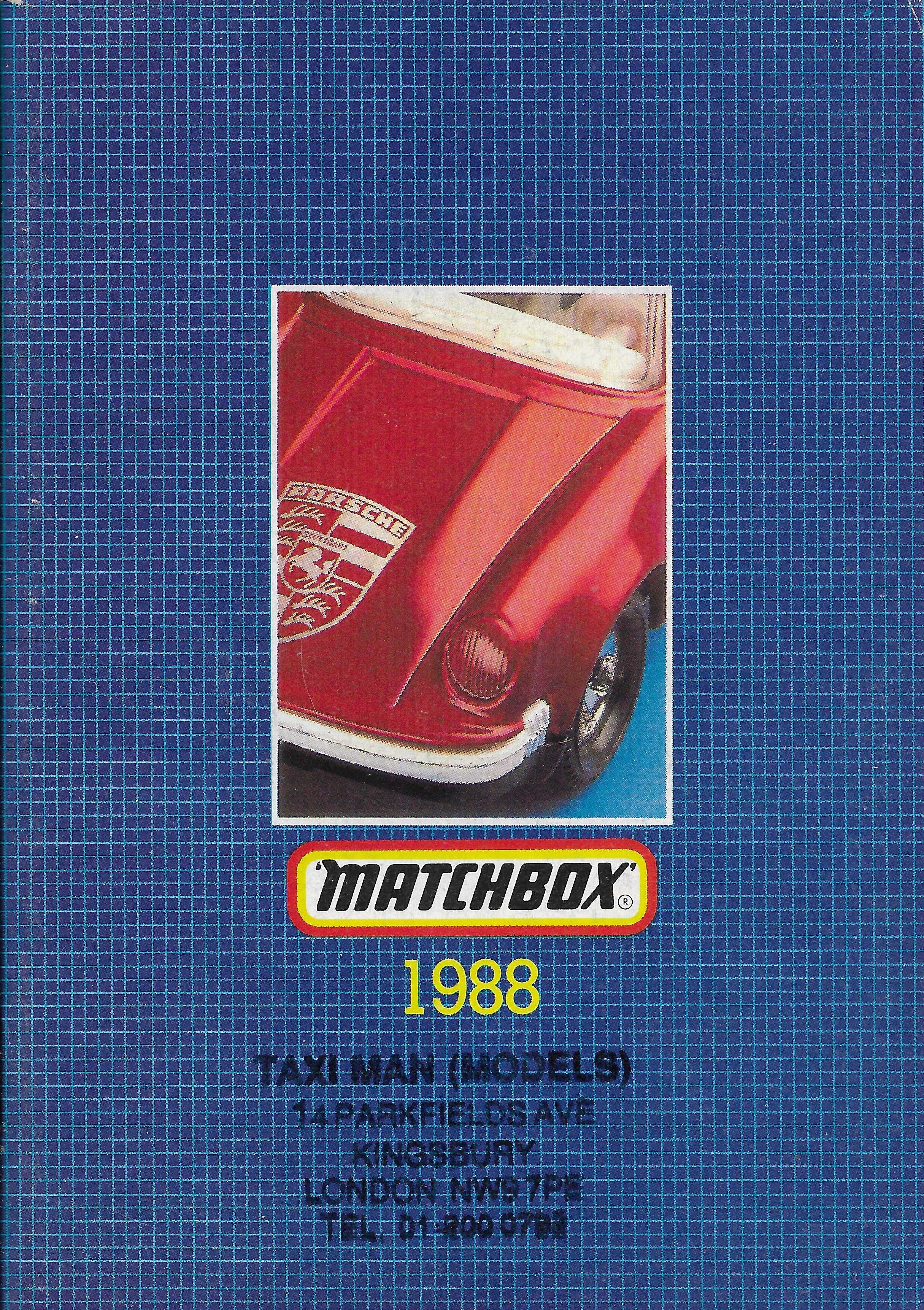 1988-as Matchbox katalógus