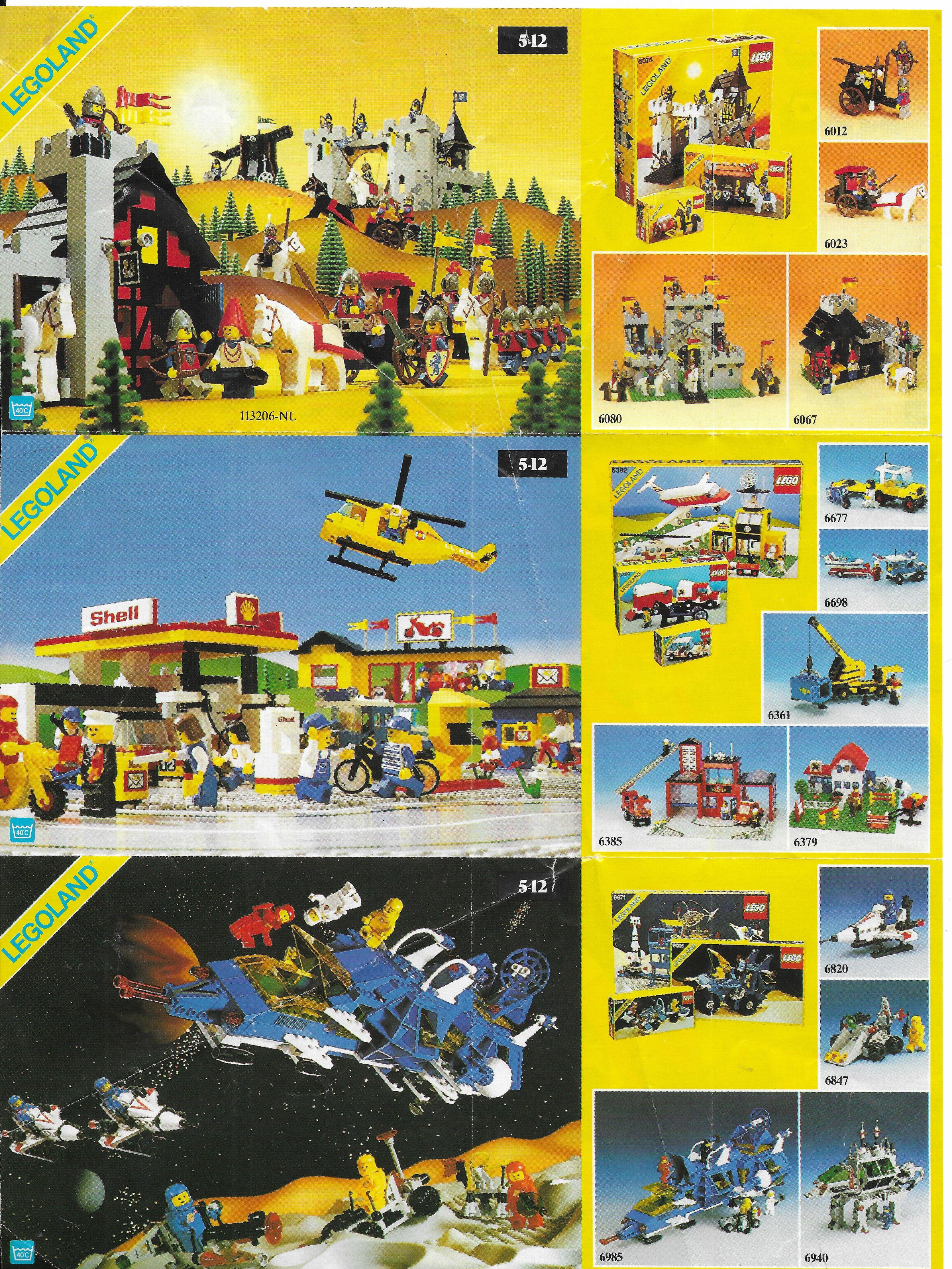 Általános Lego insert 1986-ból
