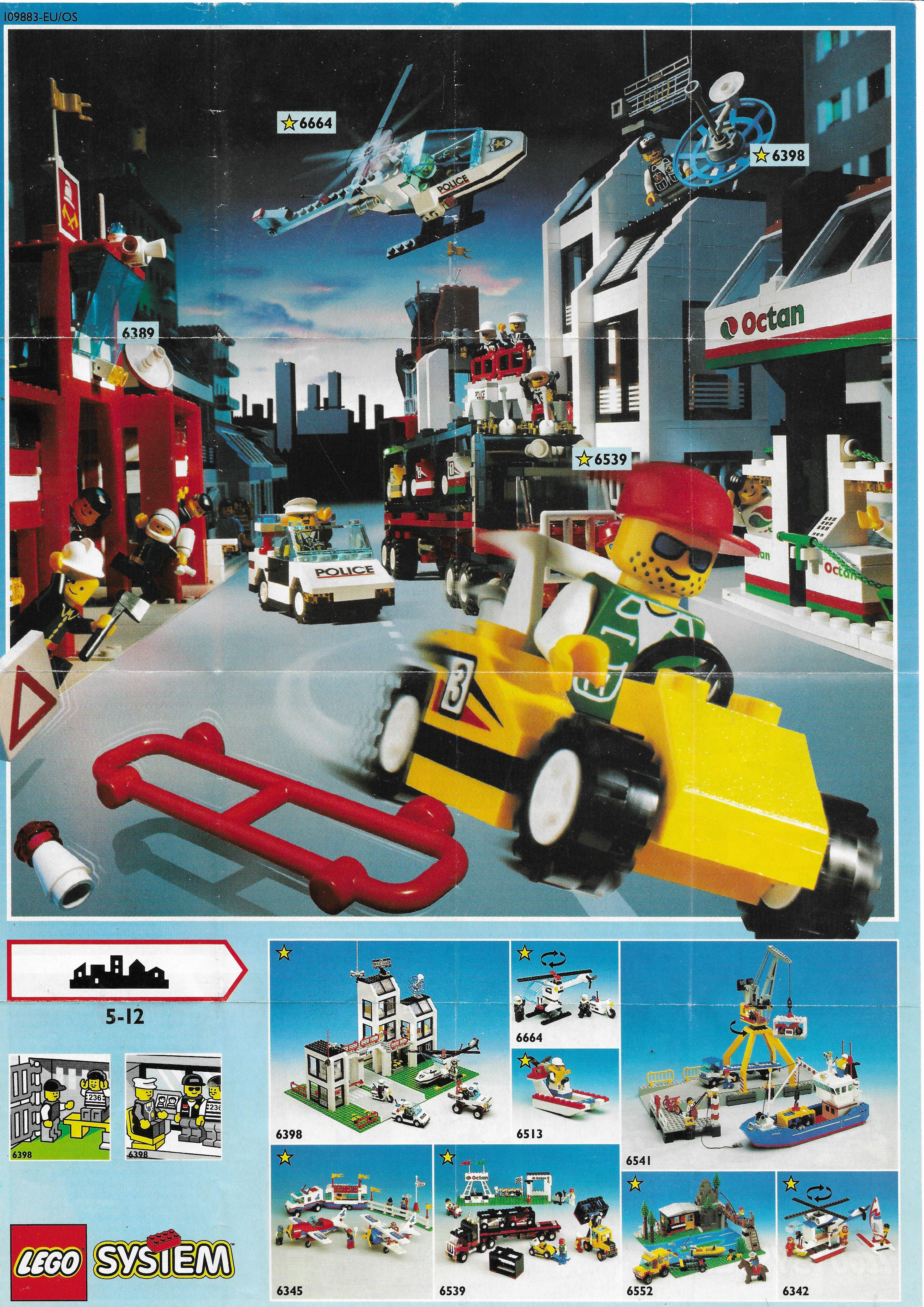 1993-as Lego Town insert