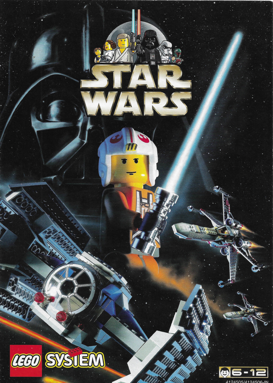 1999-es Lego Star Wars katalógus