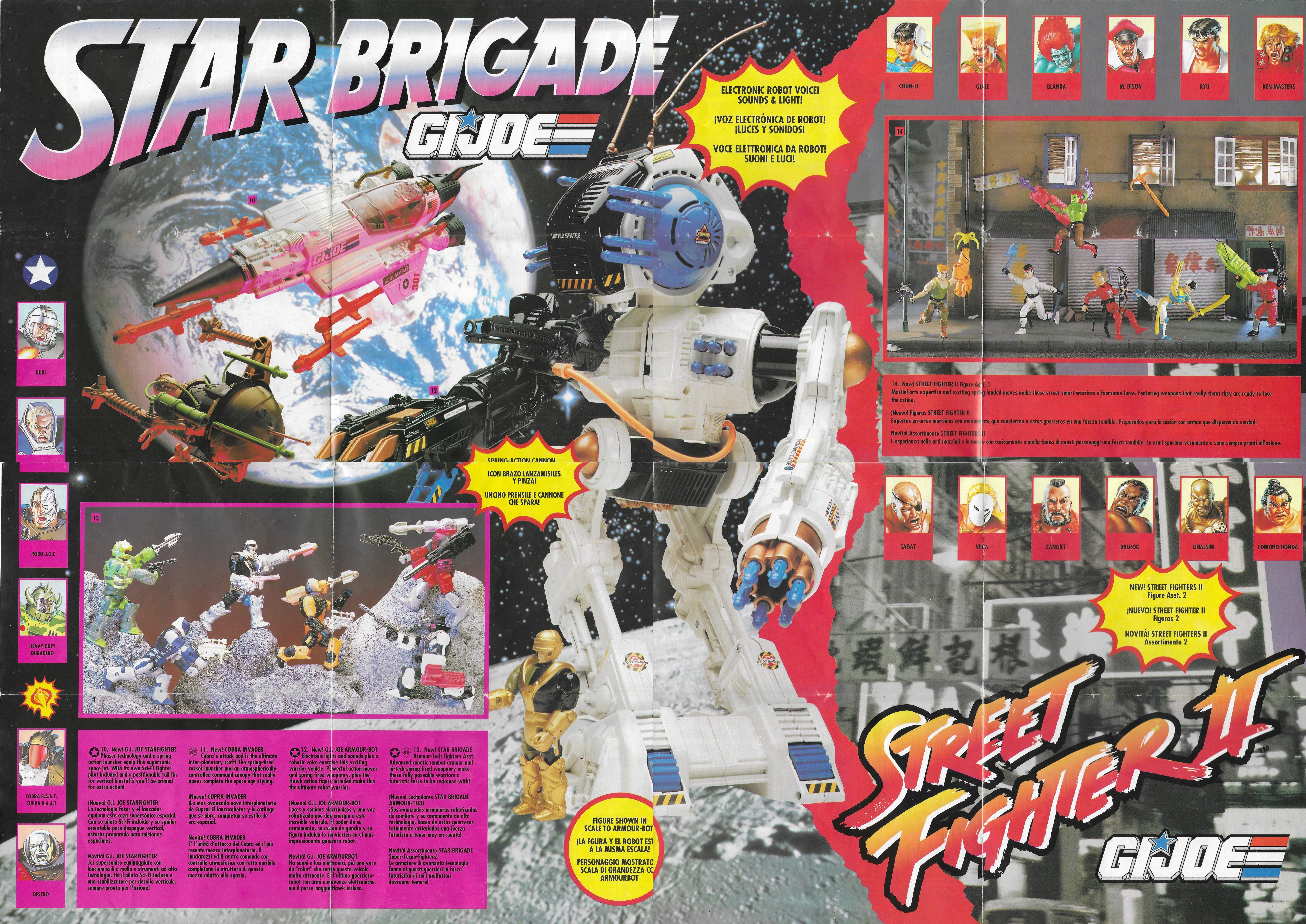 1993-as többnyelvű (közte magyar) G.I.Joe poszter