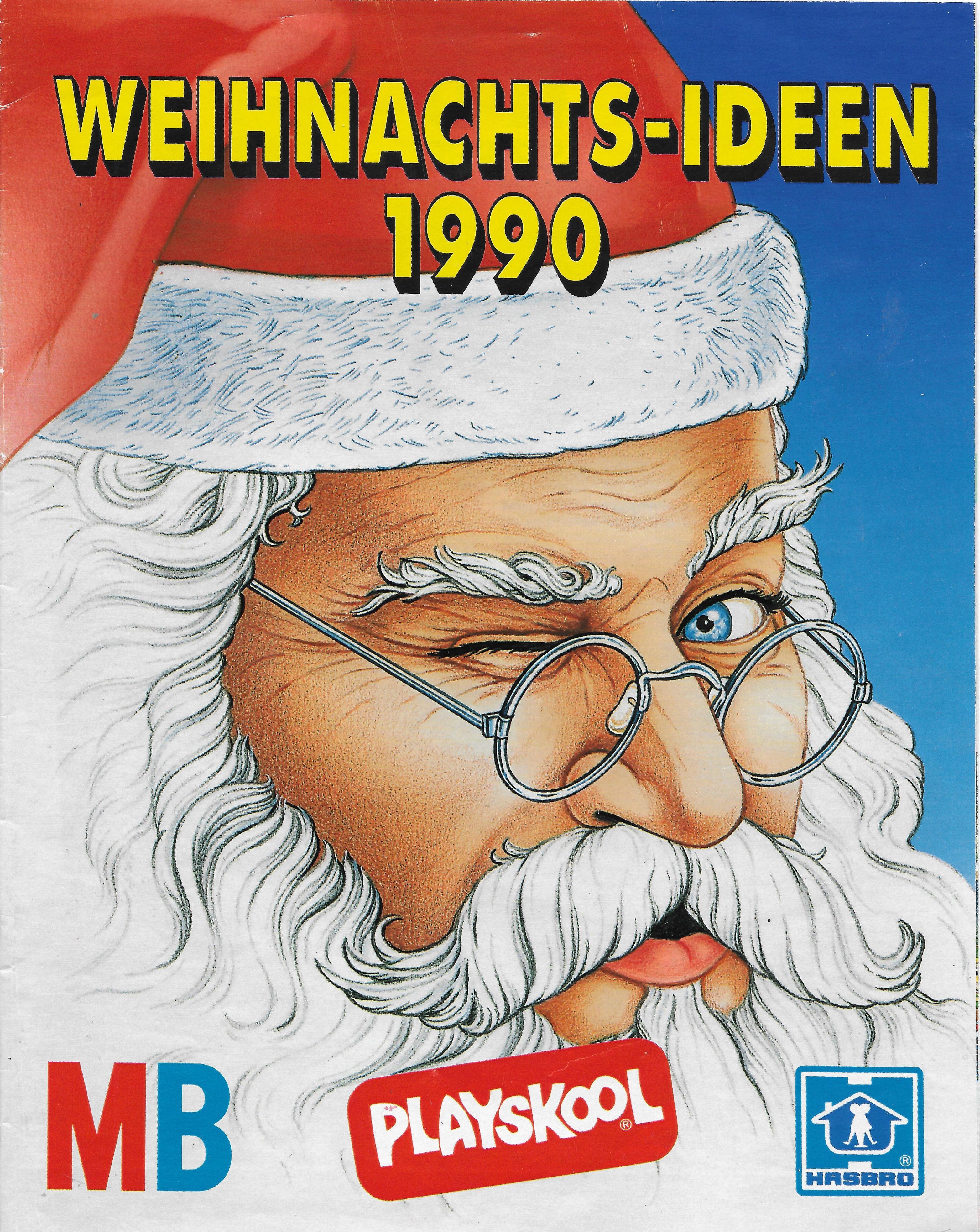 Advent II. - 1990-es karácsonyi Hasbro katalógus Németországból