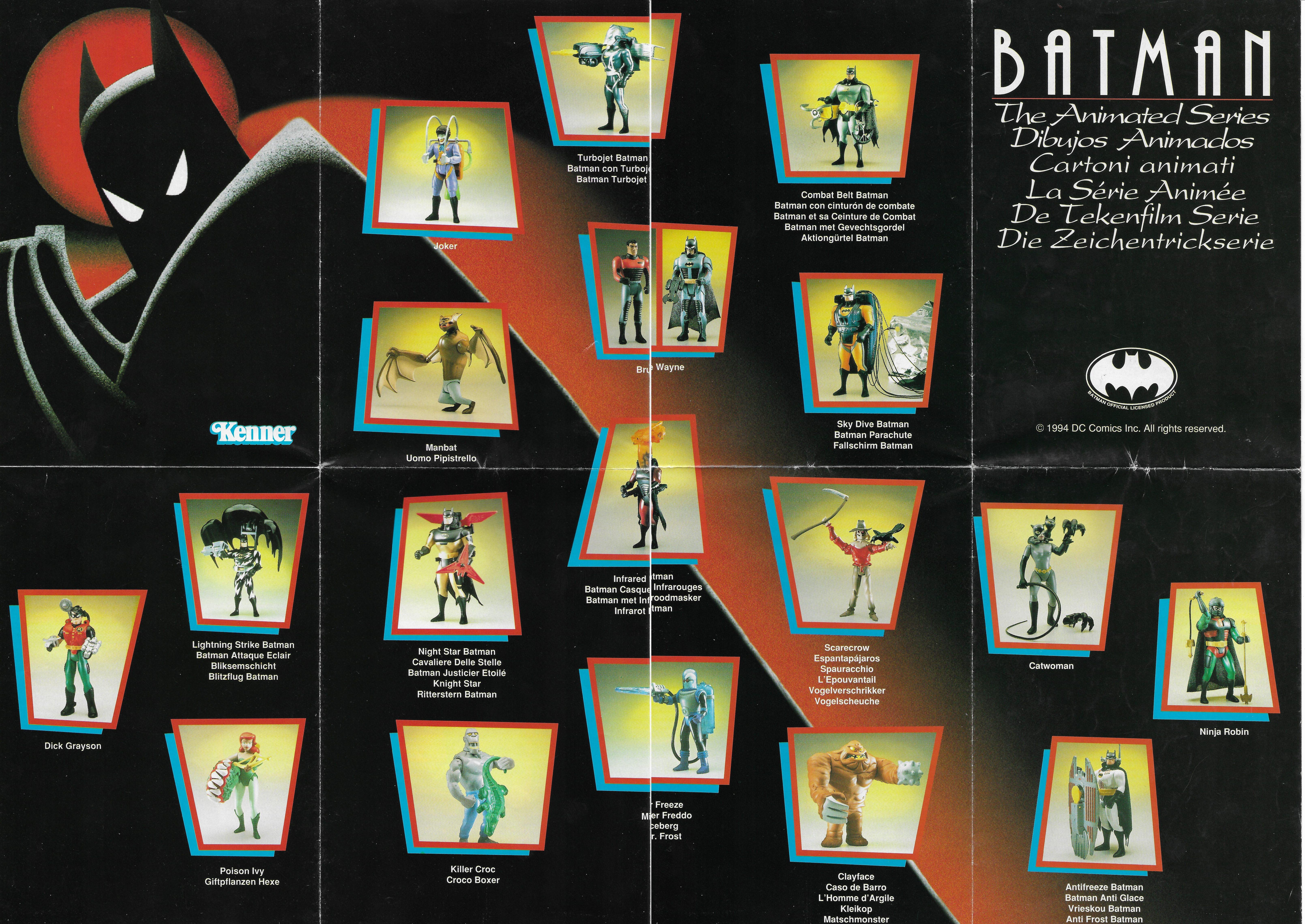 Európai Batman Animated katalógus - 1994