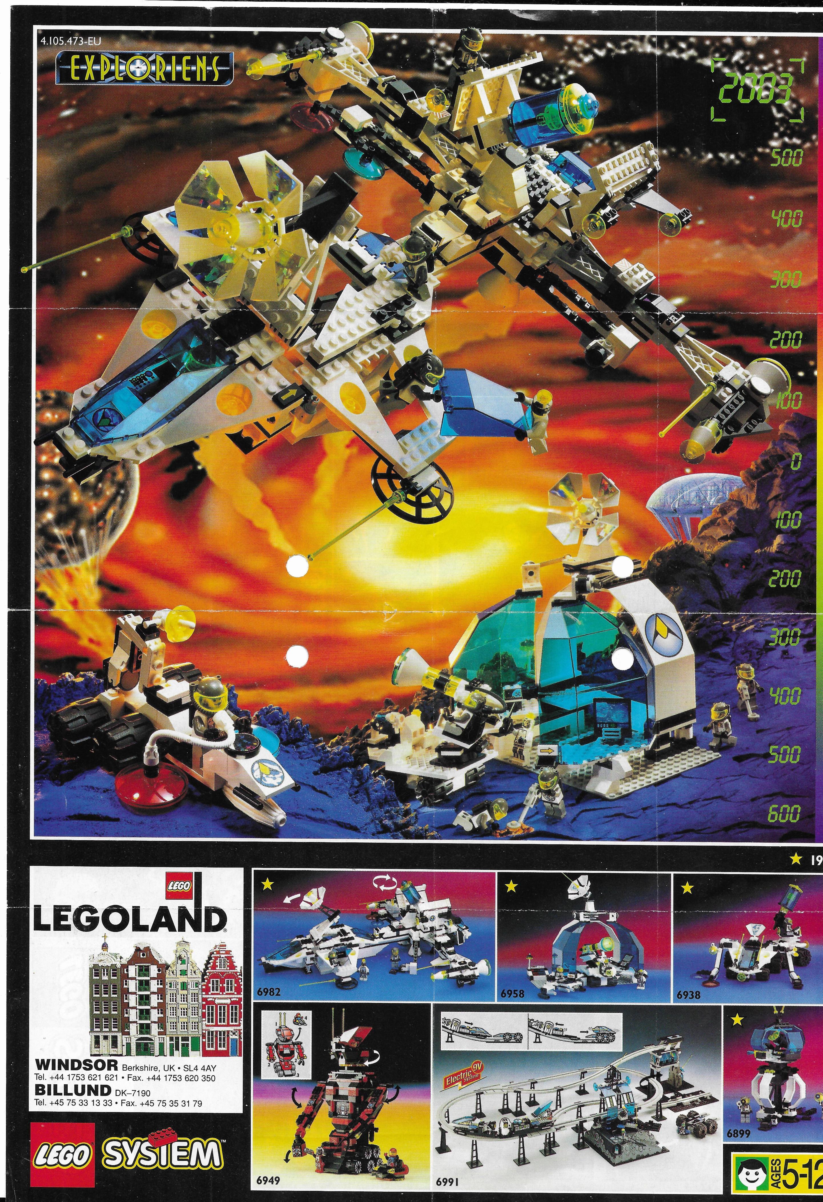 Lego Exploriens insert 96-ból