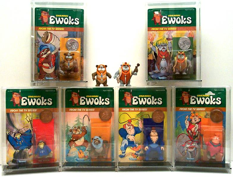 A kiadatlan Ewoks figurák