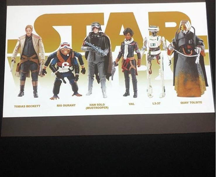 """Képek az új Solo 3,75""""-es figurákról"""