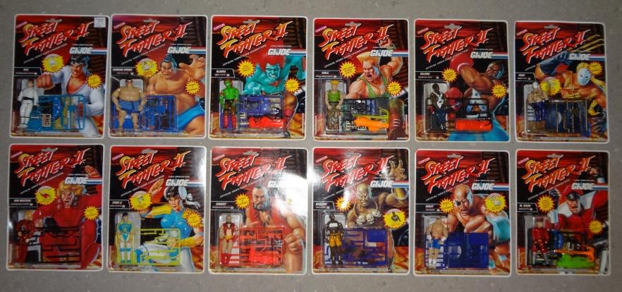 Kevésbé ismert játékvonalak - 7.rész - A Hasbro Street Fighter figurái