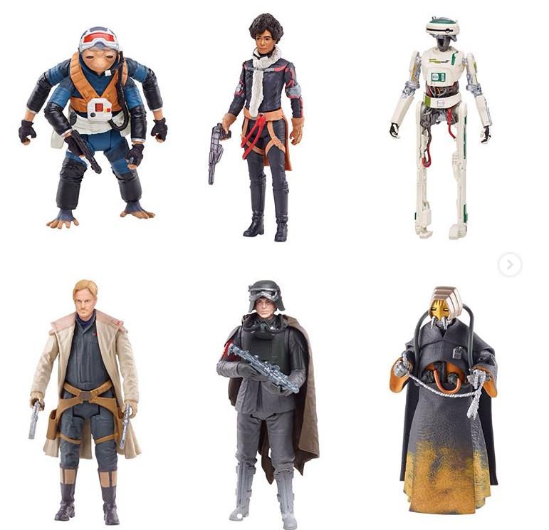 További, közelebbi képek a bejelentett Solo figurákról