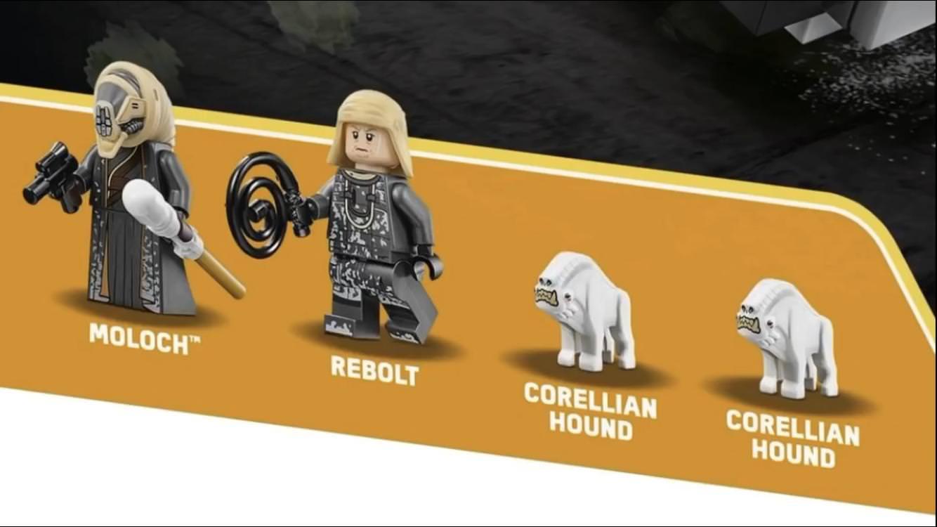 Lego Star Wars Han Solo.... az új minifigurák közelebbről
