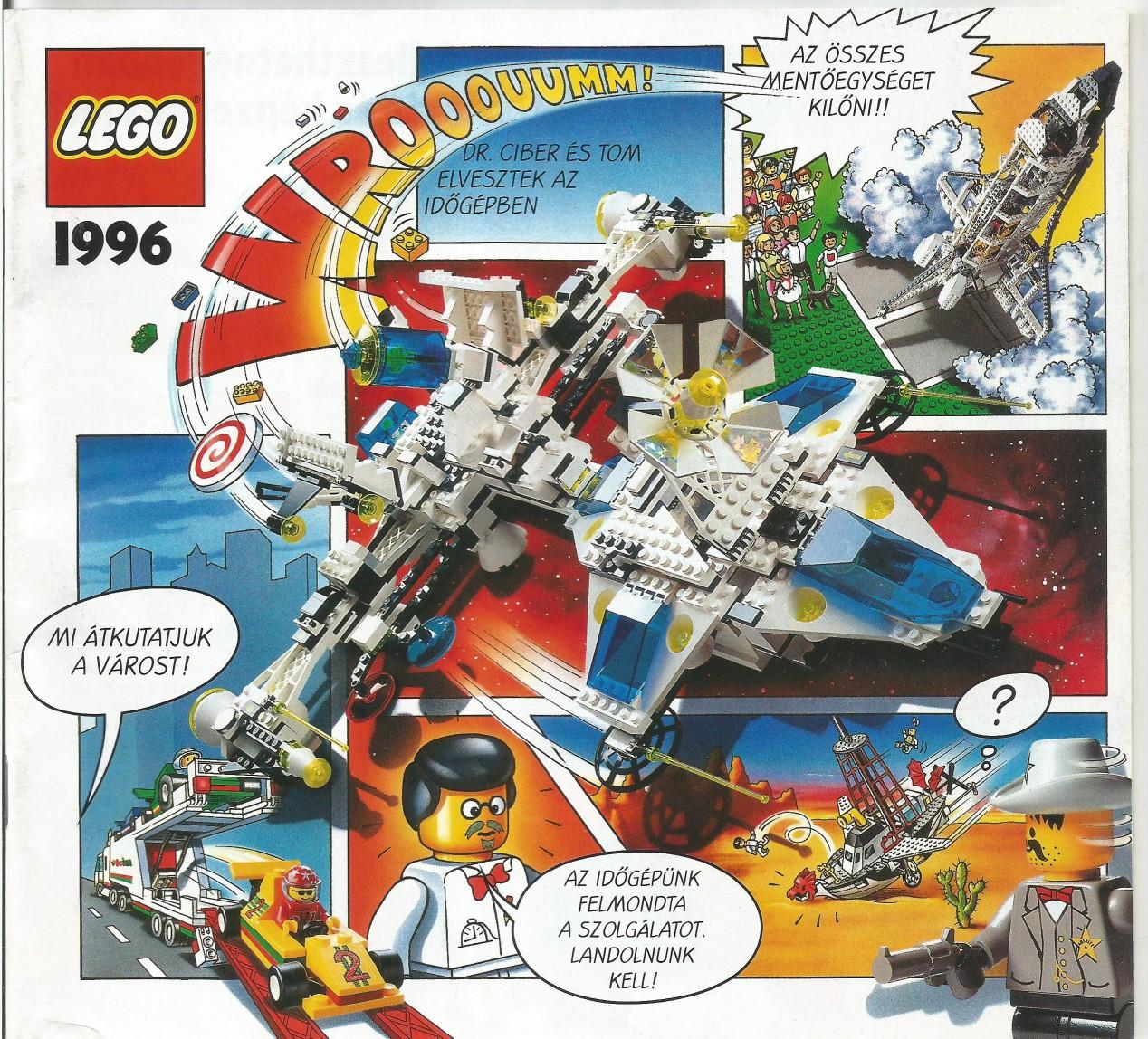 Magyar Lego katalógus 96'