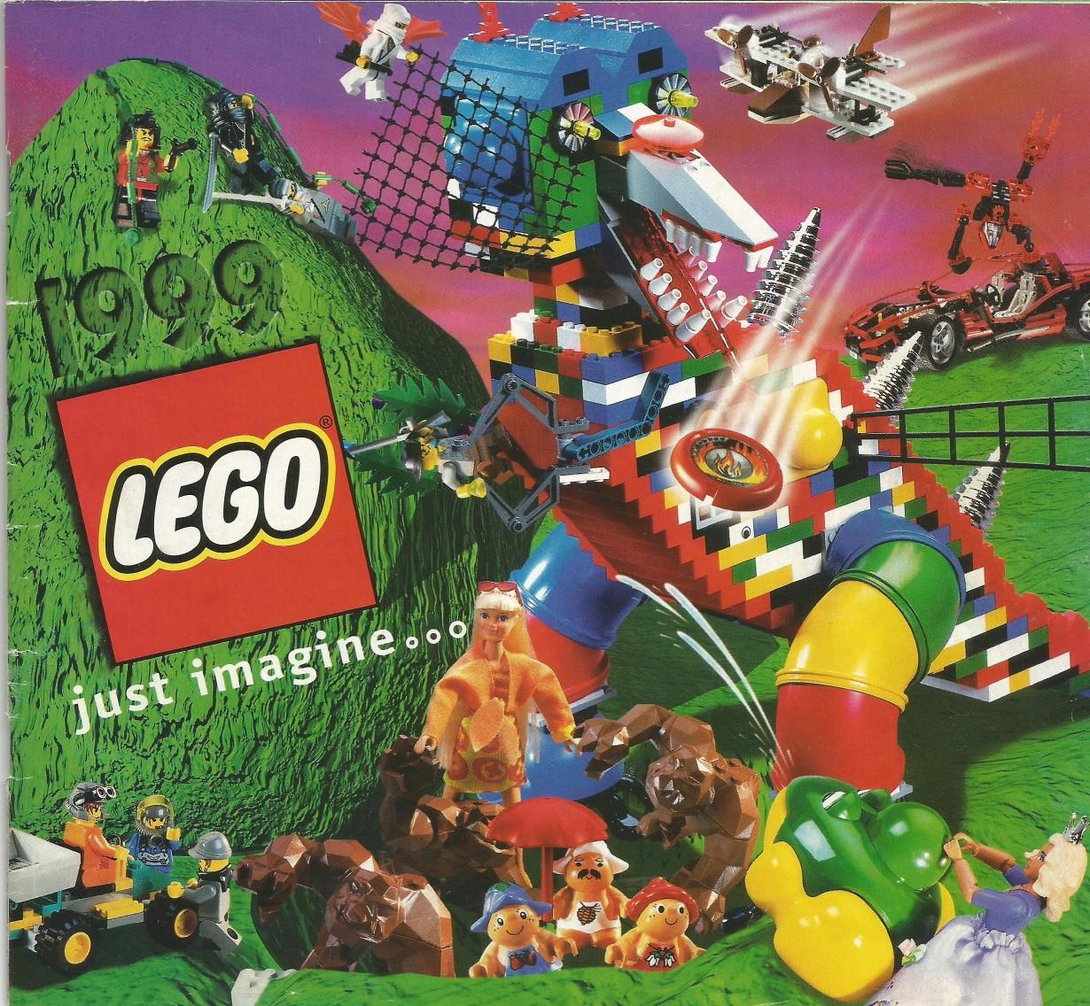 Magyar Lego katalógus 1999-ből