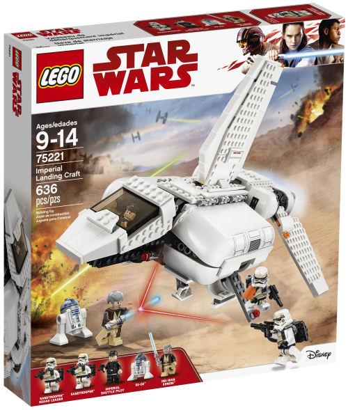 A 2018 augusztusi Lego Star Wars készletek hivatalos képei egyben