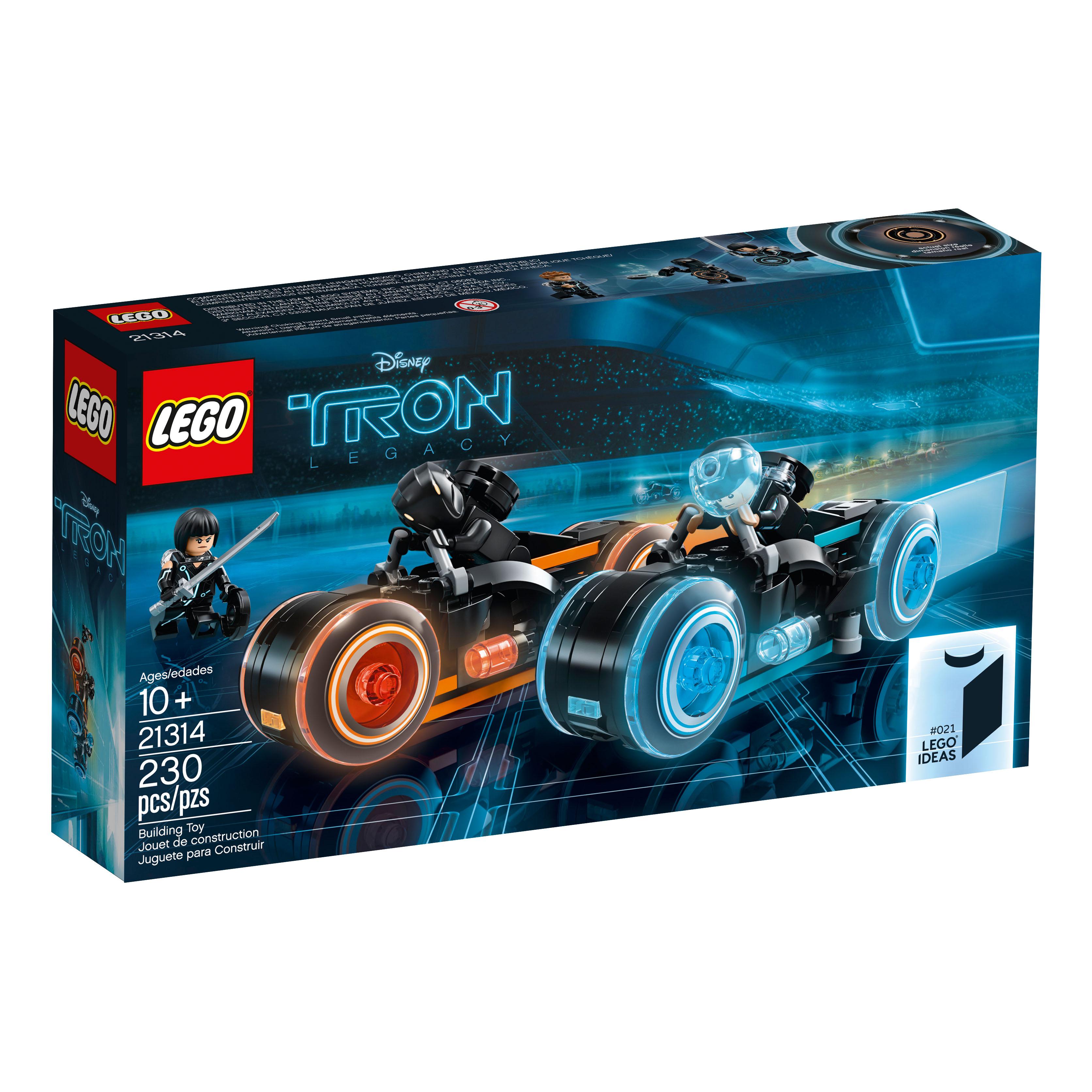 Lego Ideas Tron + Lego SW Solo Brickheadz hivatalos képek