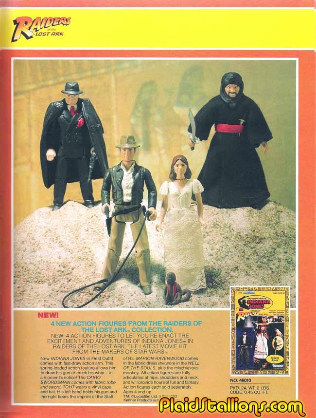 Kevésbé ismert játékvonalak - 4.rész - Az Indiana Jones figurák