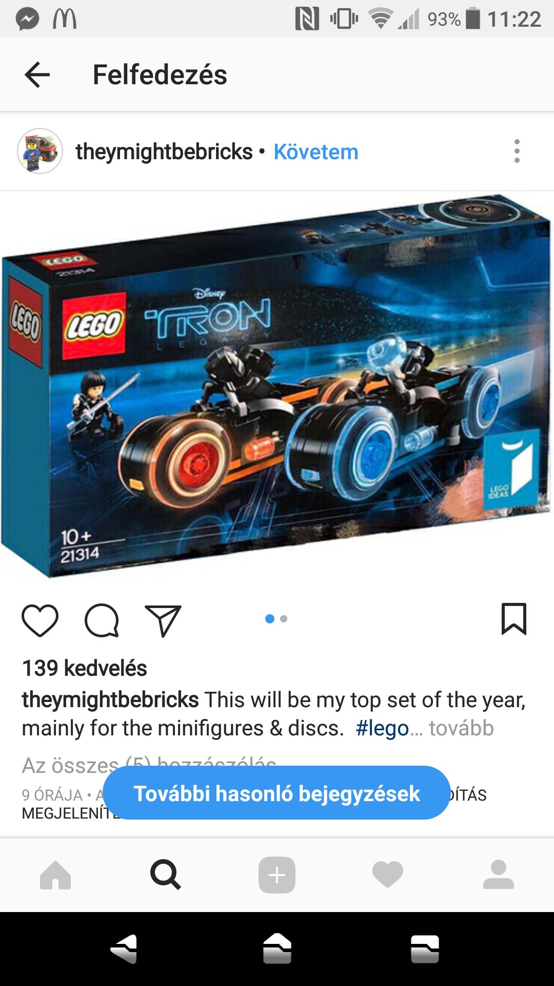 Három kisebb Lego Hír