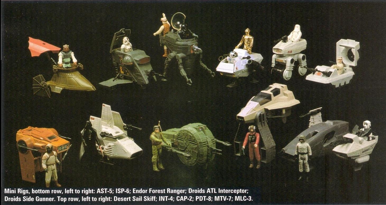 """Vintage Star Wars """"Mini Rigs-ek"""" és egyéb kiegészítők - 1.rész"""