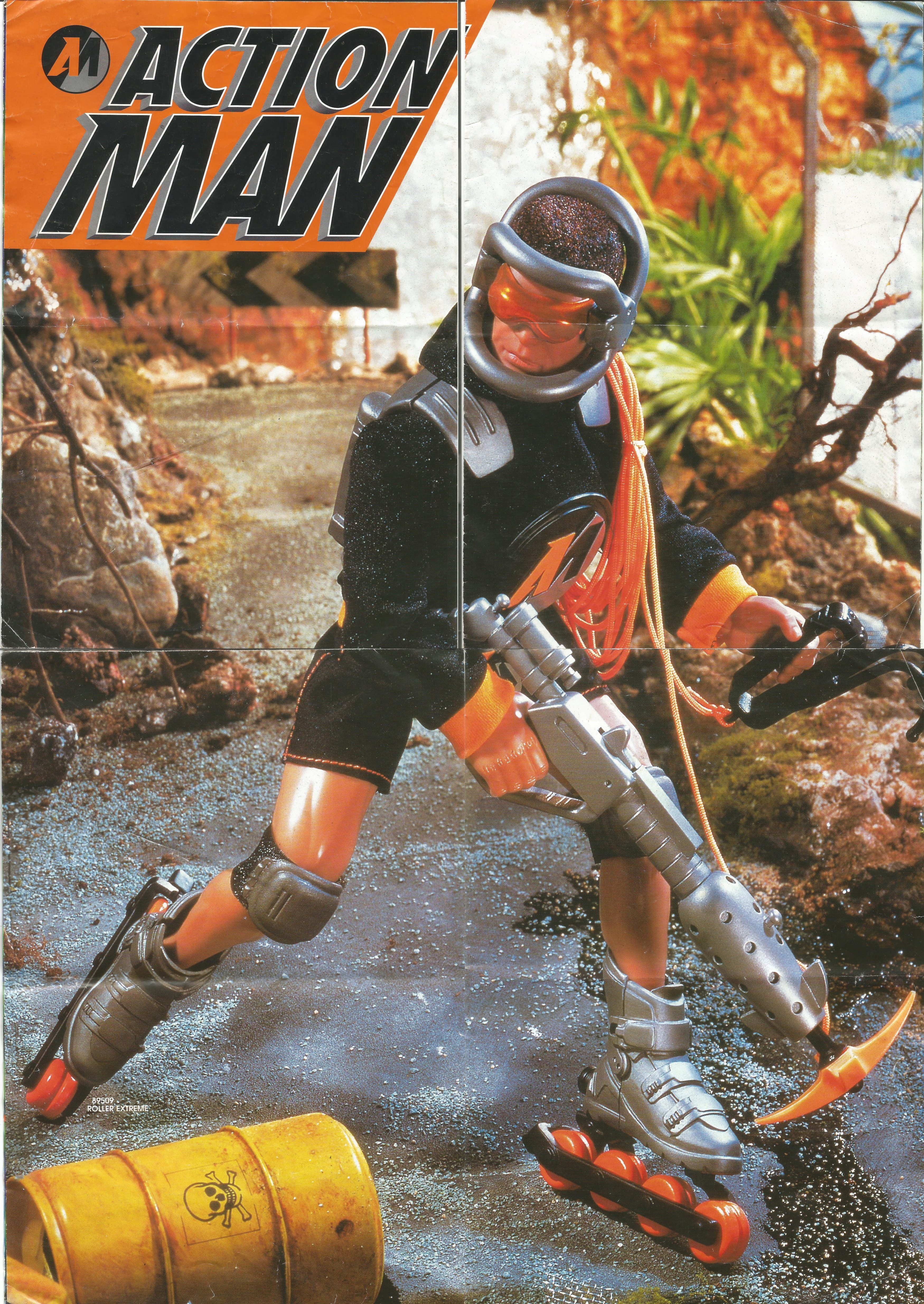 Action Man katalógus 1998-ból