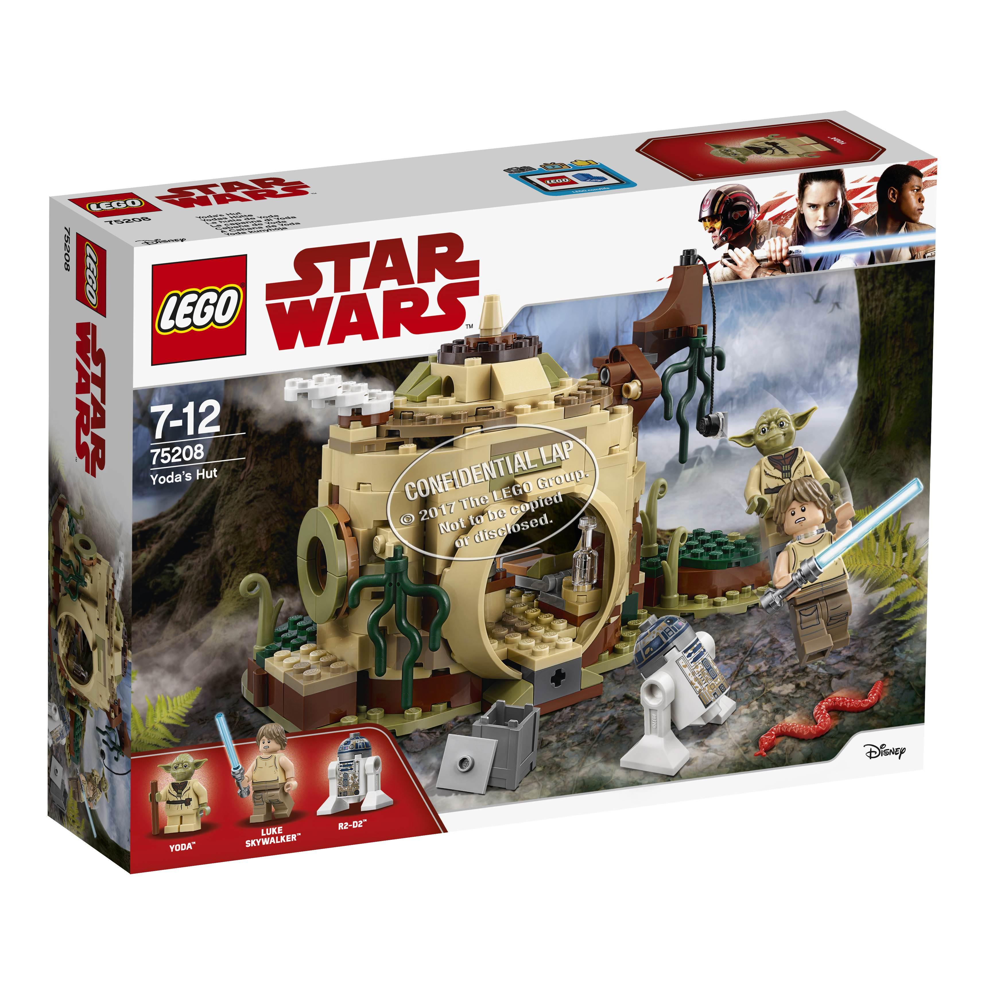 A 2018-as Lego Star Wars ütemterv