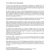 Drága és jogsértő - Az Európai Bizottság Paks II. állami támogatása ügyében folytatott konzultációjának keretében benyújtott véleményem