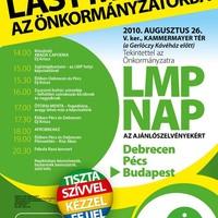 LMP nap az ajánlószelvényekért - csütörtökön!!!