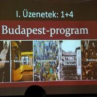 Budapest program ... előzetes