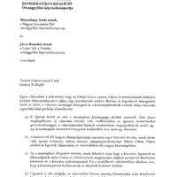 Levelezésünk Molnár Csabával