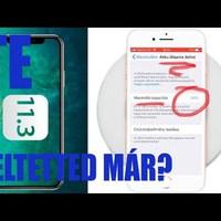 Én már FELTETTEM!!!4!   APPLE iOS 11.3 frissítés