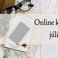 Néhány online kurzus júliusra is!