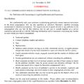 Bizalmas levél az ausztrál szolgálati bizottságoknak