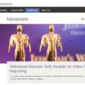 Újabb mélypont: Az Őrtorony Telly-díj szobrocskákat vásárol és hamis idézetet közöl a JW.org-on