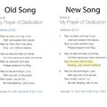 Már az énekek sem a régiek...