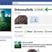 ŐrtoronyŐrök a facebook-on