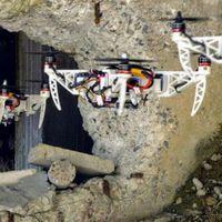 Összehajtogatható drón navigál a lyukakban