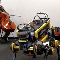 Táncol a robot